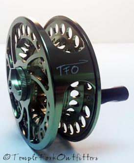 The new BVK 3+ reel features the same solid drag and frame components as the rest of the BVK family of reels. Photo by TFO.