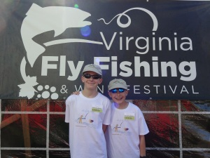 The festival has activities for the whole family!  Photo courtesy vaflyfishingfestival.org